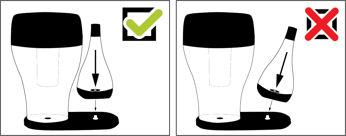 Conseil d'utilisation de la carafe filtrante O!